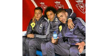 Marcelo freute sich über sein Kader-Comeback mit einem Bild mit Karim Benzema und Mesut Özil