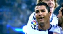 Cristiano Ronaldo, Luka Modric und Álvaro Arbeloa bejubeln ein Tor