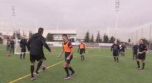 Cristiano Ronaldo beim Training und Meet and Greet von Konami