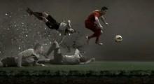 Cristiano Ronaldo von Real Madrid wirbt für den neuen Mercurial Vapor IX von NIKE