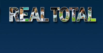 REAL TOTAL trifft Superstar Cristiano Ronaldo von Real Madrid