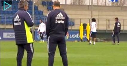 Real Madrid trainiert in Valdebebas