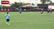 Schönes Hackentor im Training – Ramos lässt Valdés keine Chance