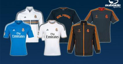15 Prozent Rabatt auf alle Trikots und Fanartikel von Real Madrid