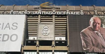 Estadio Santiago Bernabéu Fassade Don Alfredo