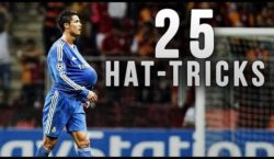 Die 25 Hattricks von Cristiano Ronaldo