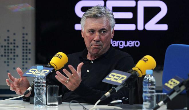 Carlo Ancelotti CADENA SER