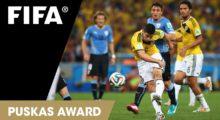 James mit Chancen auf Puskás Award