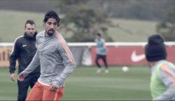 Khedira besucht Nike-Akademie