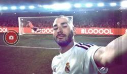 Karim Benzema für Adidas