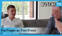 """Buschi III"": Kroos beantwortet Fan-Fragen"
