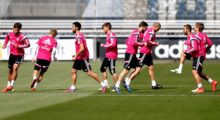 Erste Einheit vor Almería –Ronaldo und Marcelo laufen extra