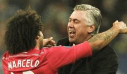 Marcelo und Ancelotti