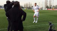 Toni Kroos Real Madrid Foundation Clinics Germany