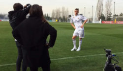 Toni Kroos Real Madrid Foundation Clinics Germany