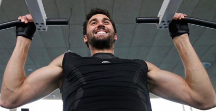 alvaro arbeloa training gym