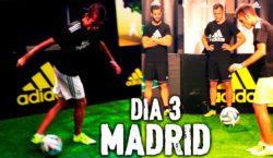 Fußballspaß mit Bale, Marcelo, Nacho und Cheryshev