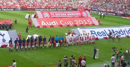 real madrid audi cup 2015 allianz arena münchen