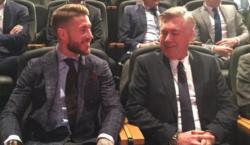 Sergio Ramos Carlo Ancelotti
