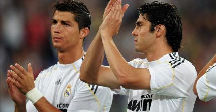 Cristiano Ronaldo Kaká Real Madrid