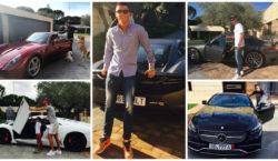 Cristiano Ronaldo Autos