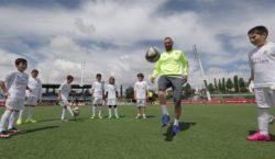 Fußballer für einen Tag –bei Real Madrid