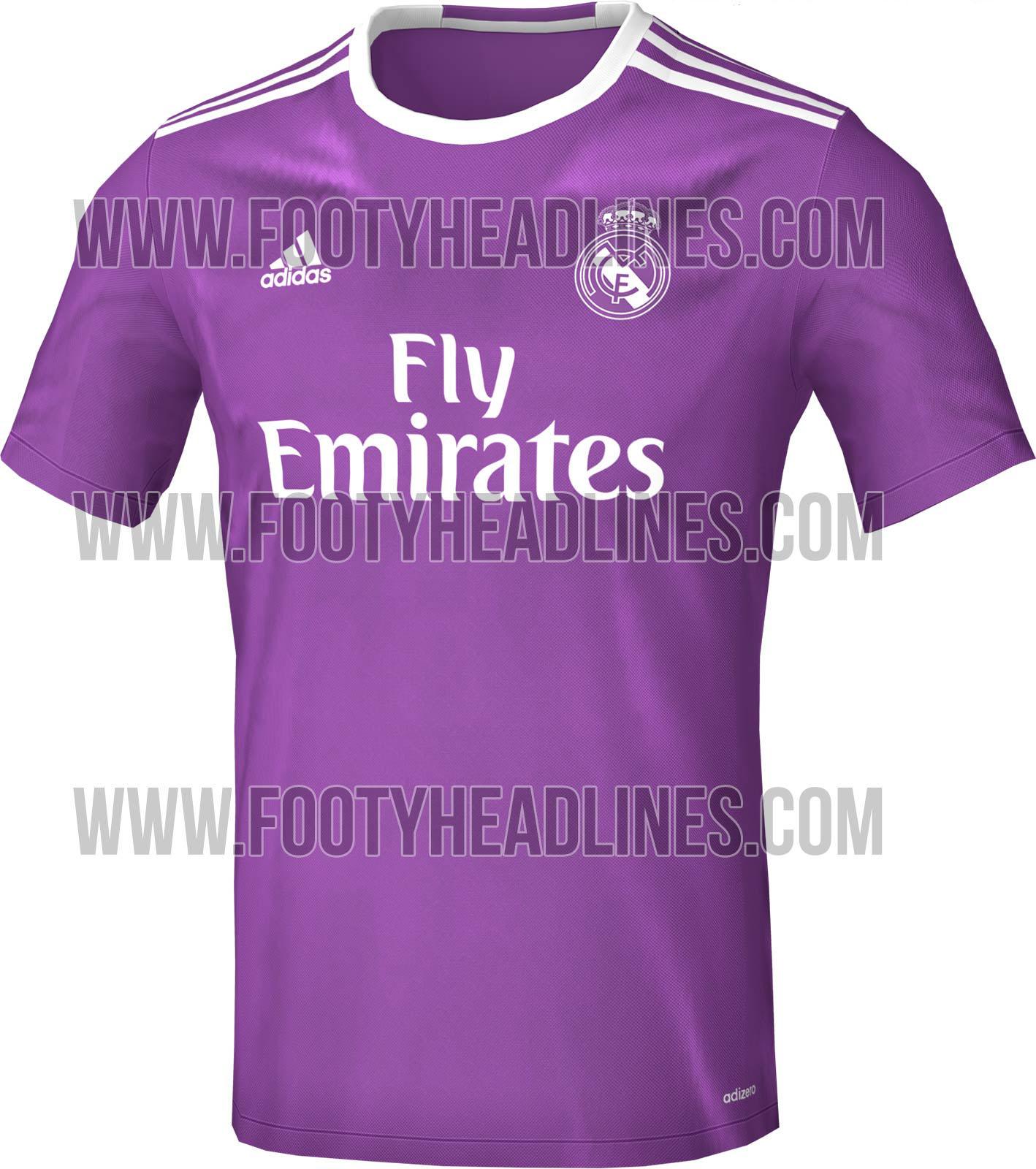 Madridistas Werden Es Lieben Das Auswärts Trikot 201617 Real Total