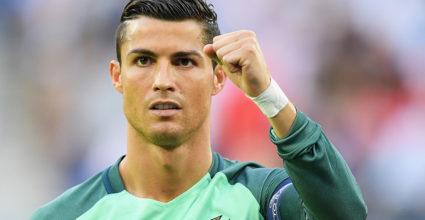 Cristiano Ronaldo Gareth Bale Europameisterschaft 2016 Portugal Wales Halbfinale