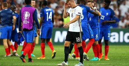 Toni Kroos Deutschland Nationalmannschaft Frankreich Europameisterschaft Halbfinale