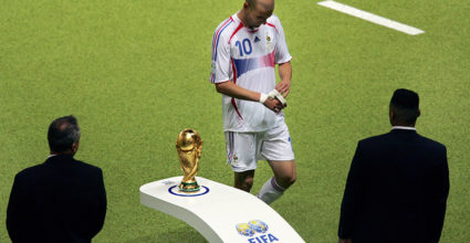 Zinédine Zidane WM-Finale 2006 Frankreich Italien