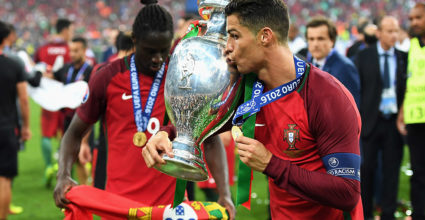 Cristiano Ronaldo Europameisterschaft Finale Portugal Frankreich 2016