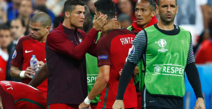 Cristiano Ronaldo Europameisterschaft 2016 Finale Portugal Frankreich