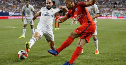 Daniel Carvajal Real Madrid Paris St. Germain
