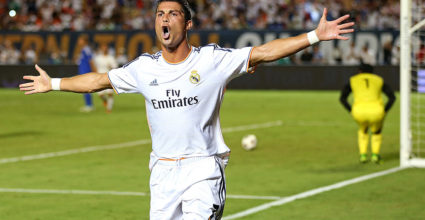 Cristiano Ronaldo Real Madrid International Champions Cup