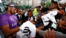 Karim Benzema Fans Hotel Montreal