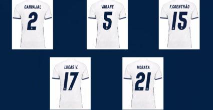 real madrid heim trikot home 2016-17 camiseta jersey adidas