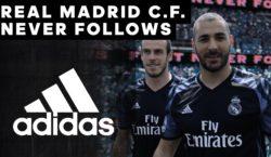 Adidas zeigt Reals neue Ausweich-Trikots