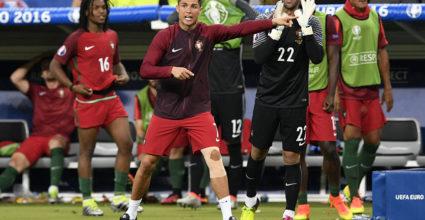 cristiano ronaldo coach portugal euro 2016