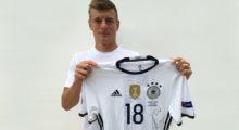 toni kroos stiftung trikot jersey euro united charity