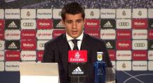 Álvaro Morata Pressekonferenz