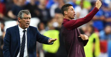 Fernando Santos Cristiano Ronaldo Portugal