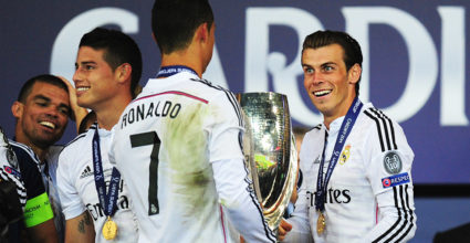 Cristiano Ronaldo Gareth Bale UEFA Super Cup Real Madrid