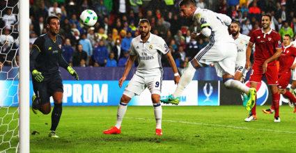 Sergio Ramos Real Madrid UEFA Super Cup