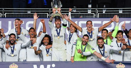 Sergio Ramos UEFA Super Cup Real Madrid