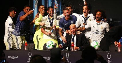 Zinédine Zidane Real Madrid Pressekonferenz UEFA Super Cup Spieler