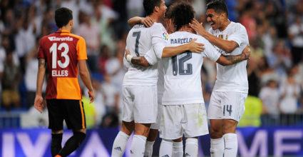 Marcelo Real Madrid Trofeo Santiago Bernabéu