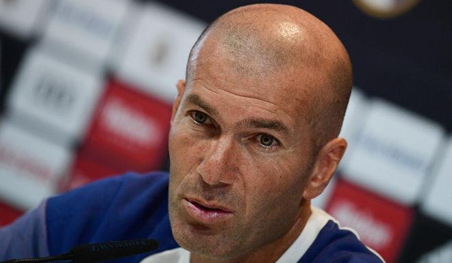 Zinédine Zidane Real Madrid Pressekonferenz Rueda de Prensa