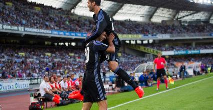 Álvaro Morata Marco Asensio Real Sociedad
