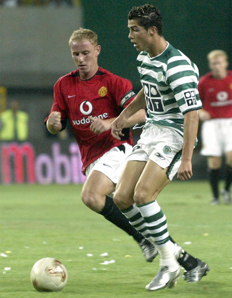 Cristiano Ronaldo Sporting Lissabon