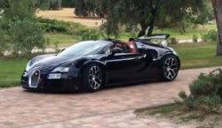 Cristiano Ronaldo Auto Bugatti